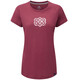 Sherpa Endless Knot t-shirt Dames rood